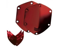 V-Moda Over ear shield kit - Shiny Red