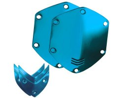 V-Moda Over ear shield kit - Ocean Blue