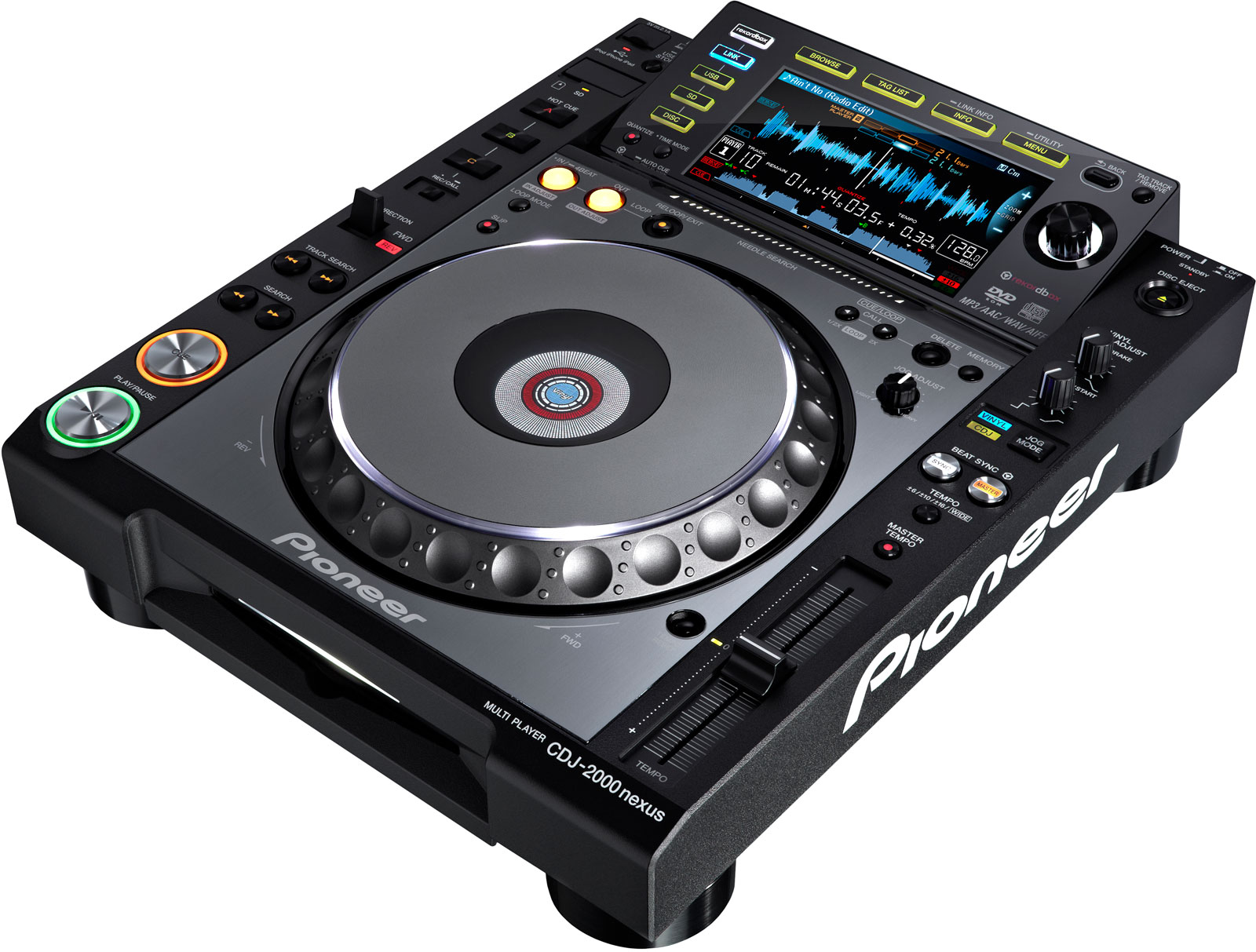 Download firmware or software for CDJ