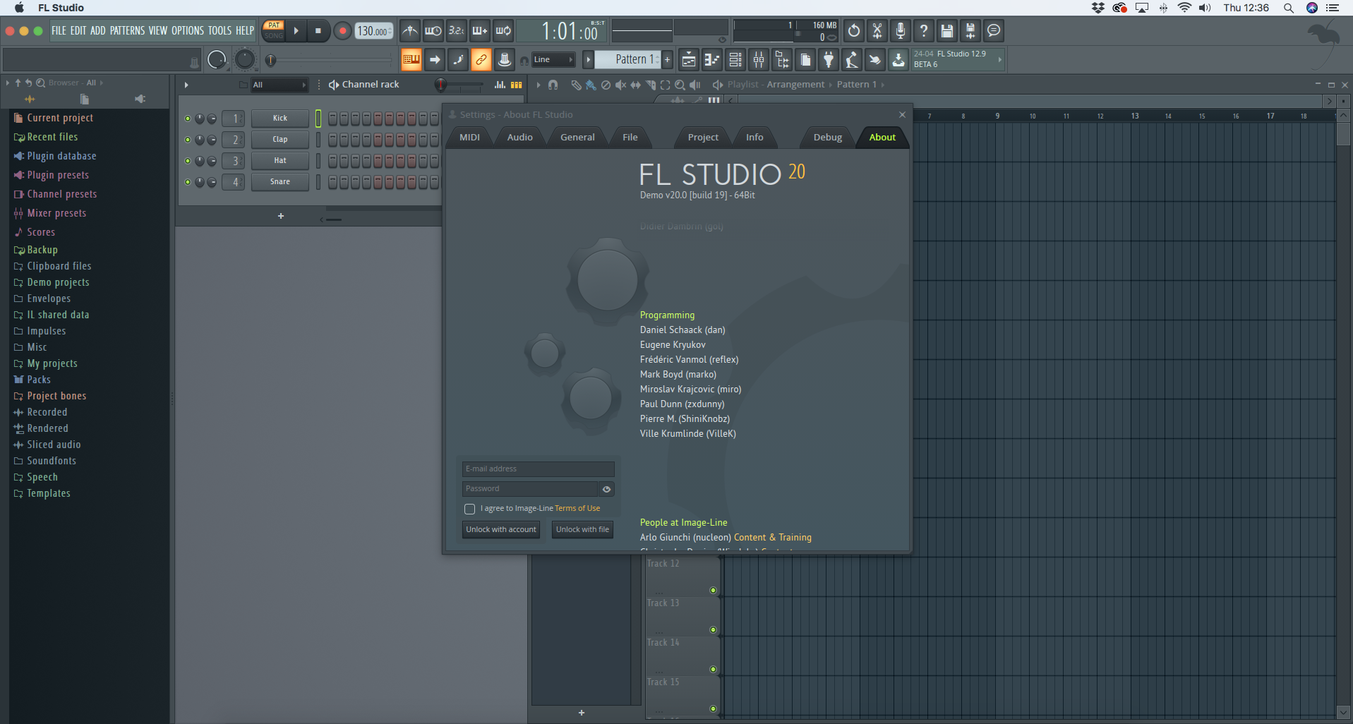 fl studio for mac beta